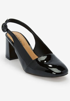 The Trista Slingback by Comfortview®, BLACK