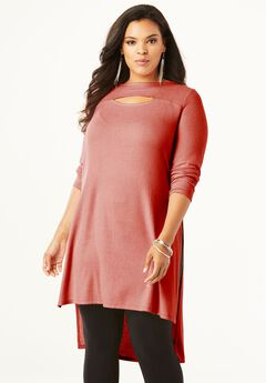 High-Low Keyhole Ultra Tunic,