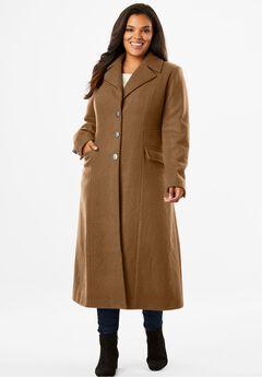 Long Wool Coat,