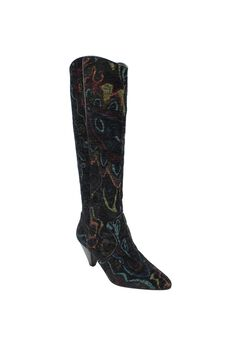 Valori-Fabric Wide Calf Boot by J.Renee®,
