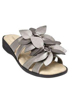 Paula Flower Sandal by Comfortview®,