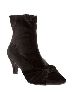 The Lala Bootie by Comfortview®, BLACK