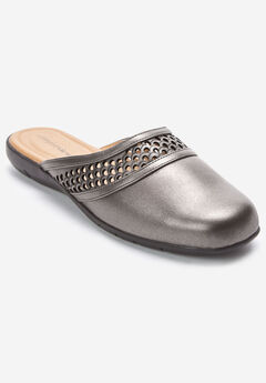 The Rosalie Mule by Comfortview®, PEWTER