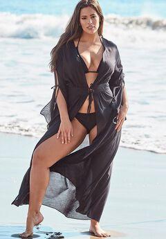 Ashley Graham x Swimsuits For All Posh Kimono Cover Up,