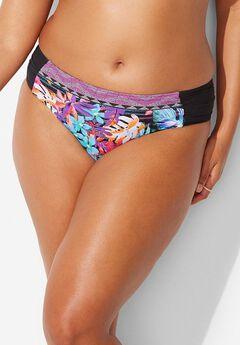 Adventuress Bikini Bottom, MULTI STRIPE TROPICAL