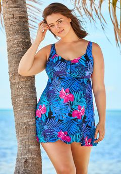 95d46307761 Plus Size Swimdresses for Women
