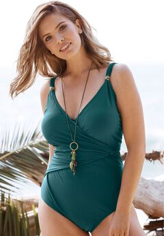 Knot-Front Maillot by Swim 365,