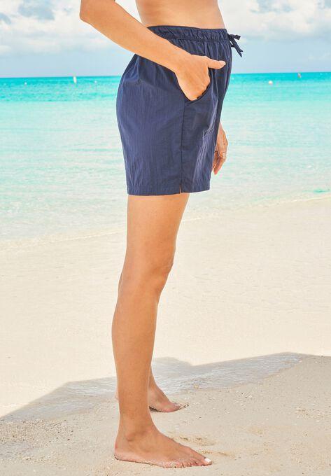 6cf4378a15 Taslon® Swim Shorts| Plus Size Swim Bottoms | Full Beauty