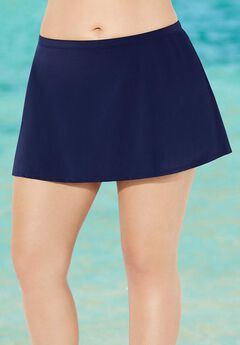 A-line Swim Skirt, NAVY