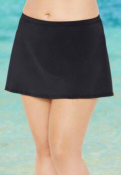 Chlorine Resistant A-line Swim Skirt,