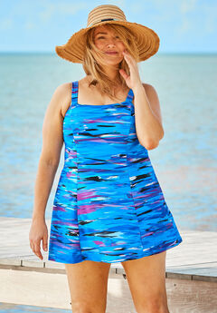 Princess Seam Swimdress,