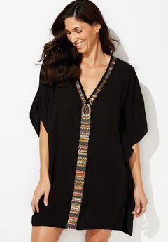Cleo Poncho Cover Up,