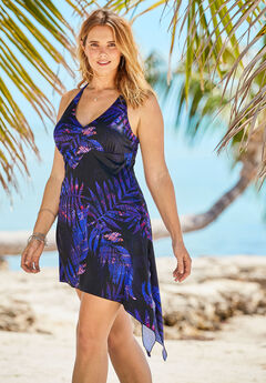 Multi-Style Convertible Swim Dress,