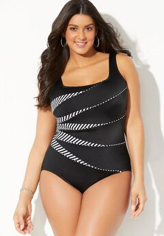Longitude Mod Squad Tank One Piece Swimsuit,