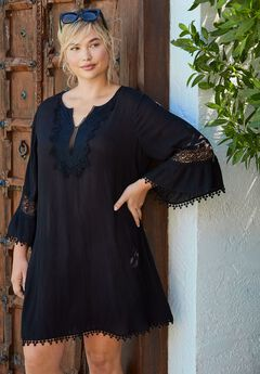 Embroidered Coverup,