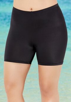 Lycra Xtra Life Bike Short Swim Bottom, BLACK
