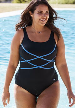 Aquabelle Criss Cross Maillot,