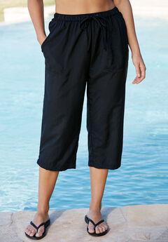 Taslon® Capri Pants,