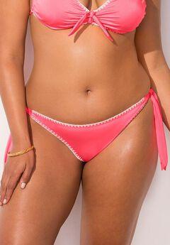 Ashley Graham Sahara Bikini Bottom, CORAL