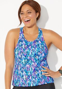 High Neck Tankini by Aquabelle ,