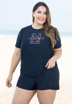 High-Waisted Swim Short by Nautica,