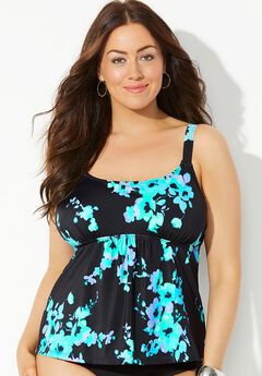 Flared Tankini Top,