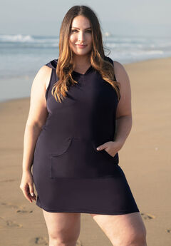 Sleeveless Swim Cover-Up by Nautica, NAVY
