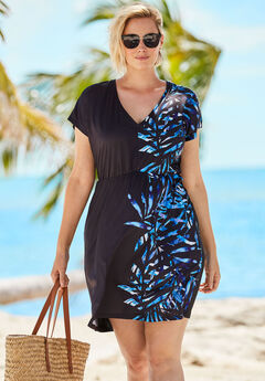 Palm Swim Coverup,