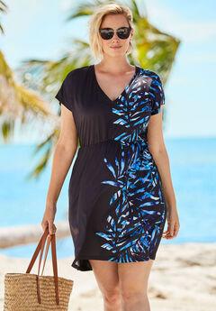 Palm Swim Cover Up,