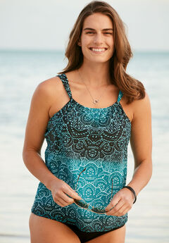 High Neck Tankini Top,