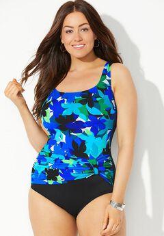 Sash Tank Swimsuit by Longitude,