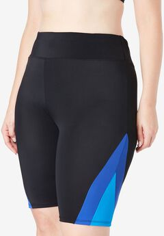 Colorblock Swim Shorts,