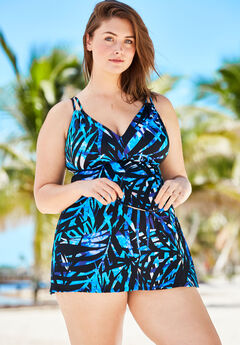 2-Piece Swimdress,