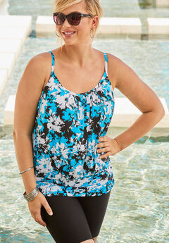 d36d7cb3a4d44 Plus Size Swim Tops for Women