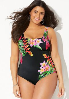 Tank One Piece Swimsuit,