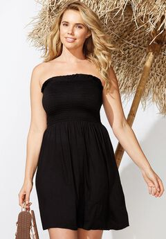 Jenna Bandeau Cover Up Dress,