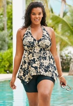 ac5a621d4a72a Plus Size Tankinis   Skirtinis for Women