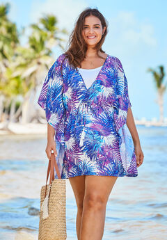 Beaded Tassel Coverup,