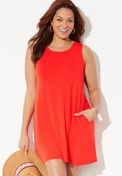 Jordan Pocket Cover Up Dress,