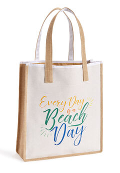 Beach Day Tote Bag,