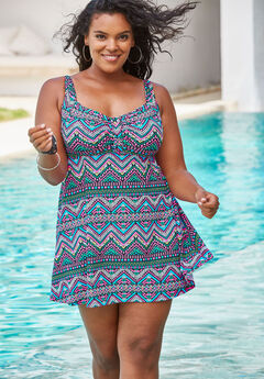 f7b41ef77a955 Plus Size Swimdresses for Women | Full Beauty