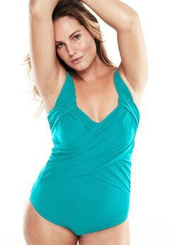 One-Piece Swimsuit With Adjustable Straps,
