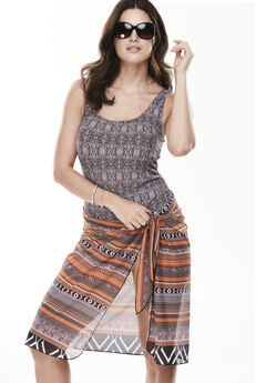 Mystic Swimsuit With Sarong,