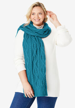 Cable Knit Scarf,