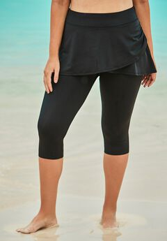 Skirted Swim Capri Pant,