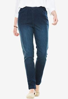 Straight Leg Fineline Jean,