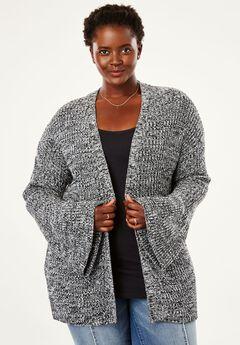 Bell Sleeve Cardigan by Chelsea Studio®,