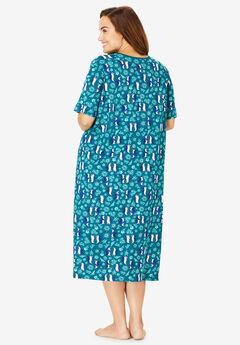 a983b6f154698 Long Print Sleepshirt by Dreams   Co.®