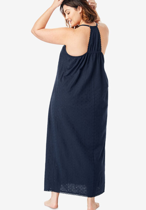 81c23db27 Breezy Eyelet Knit Long Nightgown by Dreams   Co.®