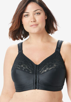 Easy Enhancer® Wireless Posture Bra by Comfort Choice®, BLACK